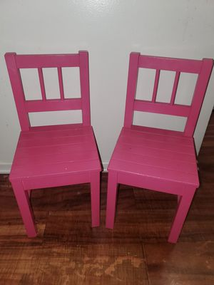 2 kids wooden chairs for Sale in San Gabriel, CA