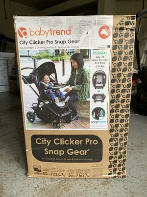 Baby trend city clicker pro baby stroller/brand new unused in original unopen box retails for $240 for Sale in Portland, OR