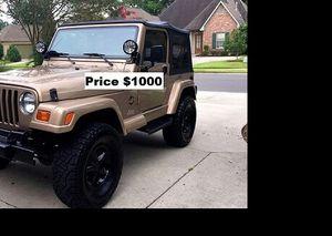 ֆ1OOO Jeep Wrangler for Sale in Fort Lauderdale, FL