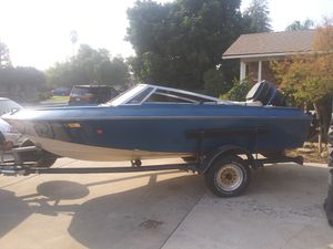 1979 Crestliner 115 Mercury outboard for Sale in Visalia, CA