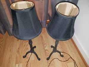 Lamps x2, Glass Lamp, Iron, Car plug in heater, Buffer. for Sale in Portland, OR