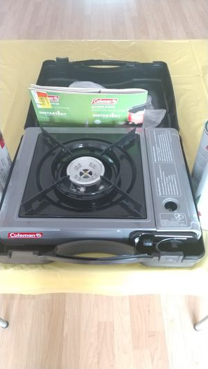 New, never used Coleman butane stove for Sale in Margate, FL