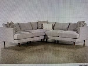 living spaces couch sectional modern couch for Sale in St. Petersburg, FL