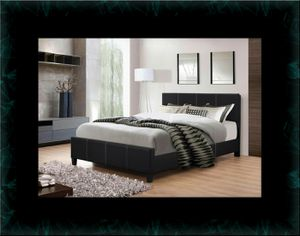 Full platform bed with box spring for Sale in Crofton, MD
