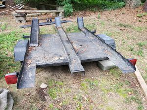 Tree Rail motorcycle traler for Sale in Knightdale, NC