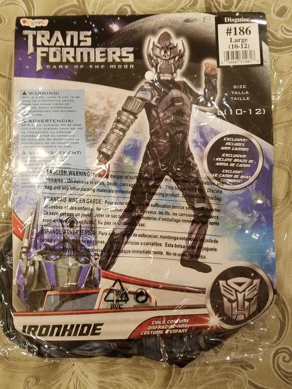 Transformers Iron Hide Halloween Costume
