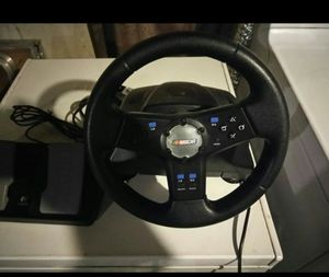 Nascar wheel and pedal for ps2 for Sale in Valley View, OH