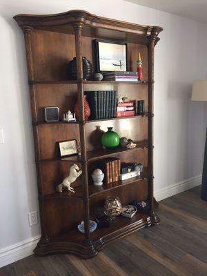Designer Bookcase marked HERITAGE for Sale in Scottsdale, AZ