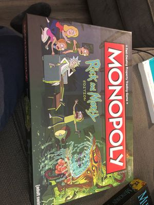 rick and morty monopoly for Sale in Los Angeles, CA