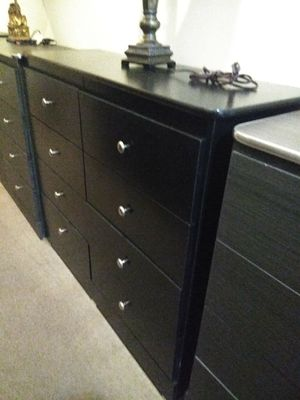 All new black compressed 8 drawer dresser with rails for Sale in Norwalk, CA