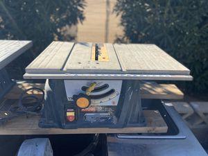 """Ryobi 10"""" Table Saws for Sale in Las Vegas, NV"""