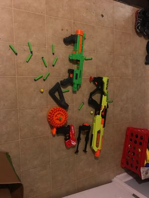 Nerf gun bundle for Sale in Wake Forest, NC