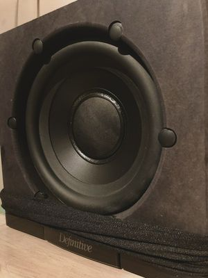 Definitive Audio Supercube 2000 Subwoofer Home Theater RETAILS $649 for Sale in Portland, OR