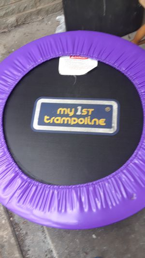 Trampoline ready for spring for Sale in Silver Spring, MD