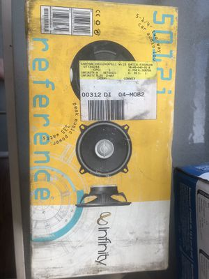 infinity two way car audio speaker (only one in box) for Sale in Mokena, IL