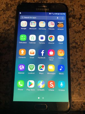 Samsung Galaxy Note 5 in Excellent Condition for Sale in Whittier, CA