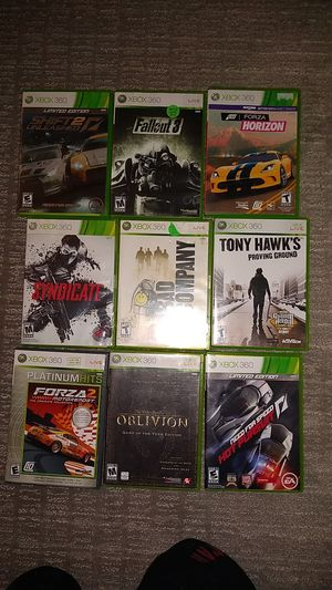 Xbox 360 video games 15 each for Sale in Seattle, WA