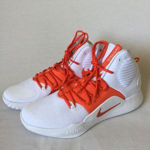 Nike Hyperdunk X Zoom TB 2018 Basketball Shoes White/Orange Size 16 for Sale in Las Vegas, NV