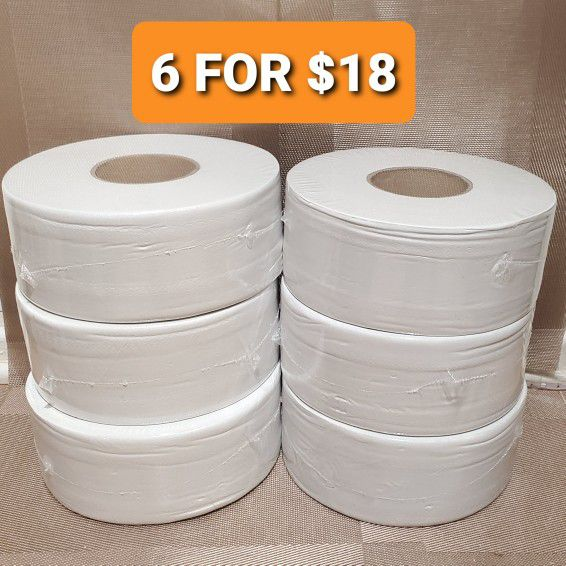 6 For $18 Jumbo 700 Feet and FREE roll Of Bags