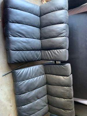 Black leather futon for Sale in San Diego, CA