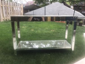 Glass Mirror Table for Sale in Pittsburgh, PA