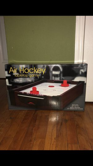 Air hockey table top game premier edition for Sale in Santa Ana, CA