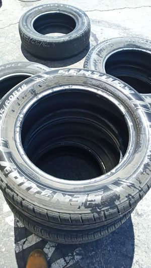 Used tires 215/60/R16 for Sale in Las Vegas, NV