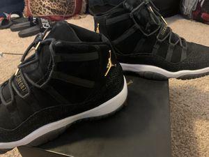 Air Jordan Retro 11 Black Stingray Size 9 In Men's and Size 11 in Wmns for Sale in El Cajon, CA