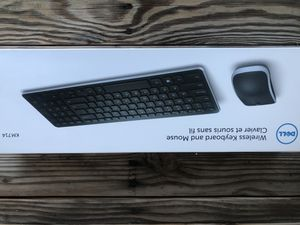 Computer keyboard Dell km714 with mouse gel pad! Wireless!! for Sale in Fremont, CA