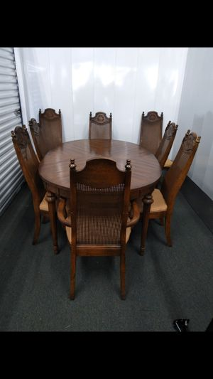 Vintage Table an 8 chairs for Sale in Durham, NC