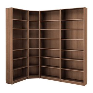 IKEA billy bookshelves corner unit for Sale in Madison, OH