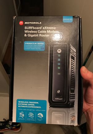 Motorola SURFboard eXtreme Wireless Modem and Router for Sale in Los Angeles, CA