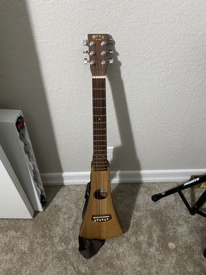 Martin & Co Travel Guitar with bag for Sale in Las Vegas, NV