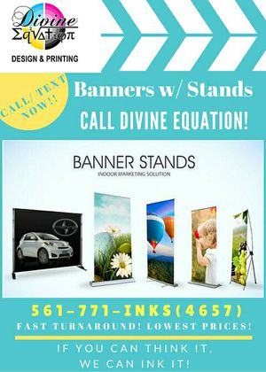 Retractable Banner Signs for Sale in West Palm Beach, FL
