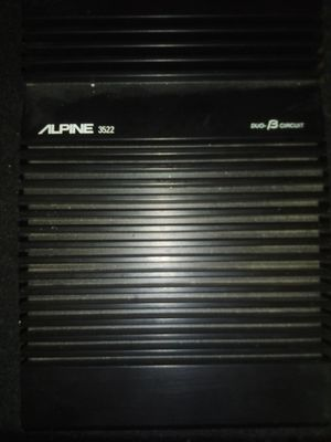 Alpine hundred 50 watt RMS amplifier dual bios circuit for Sale in Kaysville, UT
