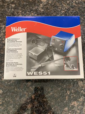 Weller WES51 Soldering Iron Station for Sale in Westlake, OH