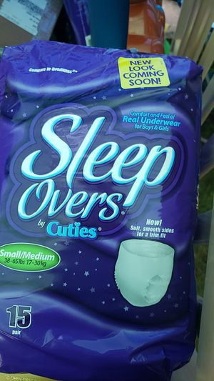 Sleep overs pull ups for Sale in Grand Rapids, MI