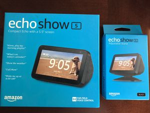 Echo Show 5 with stand NEW for Sale in Boston, MA