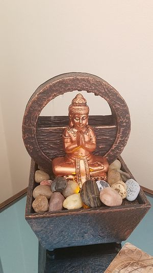 Buddha Fountain small but cute for Sale in Willoughby, OH