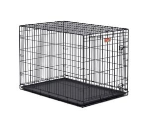 Large Metal Fold Up Dog Crate for Sale in Phoenix, AZ