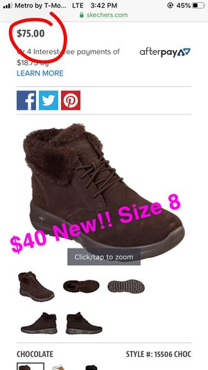 New women's Skechers size 8 boots for Sale in Banning, CA