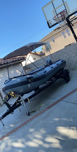 Inmar inflatable 530 patrol boat. 17.5ft 12 passenger for Sale in Grand Terrace, CA