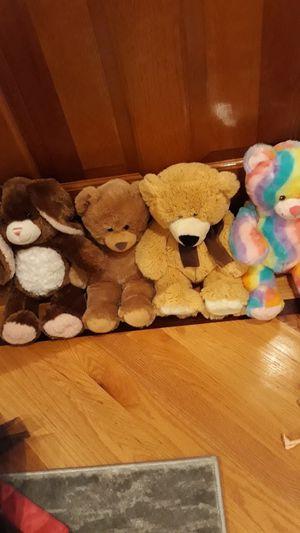Build a bear (4 perfect teddy bears) for Sale in Marlboro Township, NJ