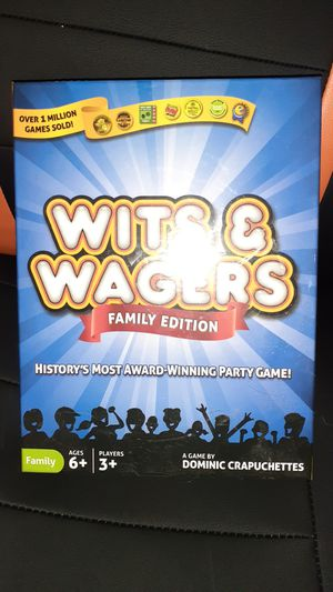 Wits and Wagers game for Sale in Goldsboro, NC