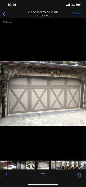 Garage door hurricane proof coachman collection for Sale in Doral, FL