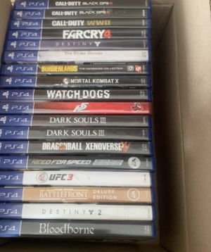 Sony Ps4 Game lot bundle-Games for Sale in Winters, TX