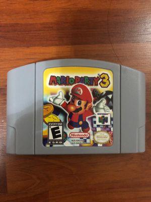 Mario Party 3 for Sale in Miami Lakes, FL