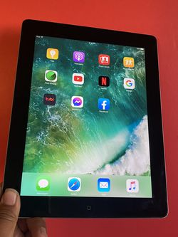 "Apple IPad 4th Generation (9.7"" Retina Display / 2 camera / IOS 10.3) 16GB with complete Accessories (youtube/Netflix/Facebook installed). for Sale in South El Monte,  CA"