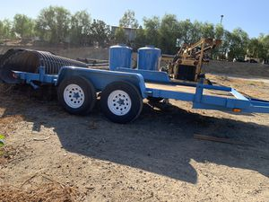 7x14ft flat bed trailer for Sale in Corona, CA