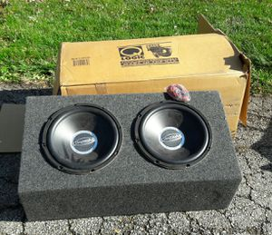 "Bazooka 12"" Sub Woofers w/ Box - NEW for Sale in Mount Prospect, IL"